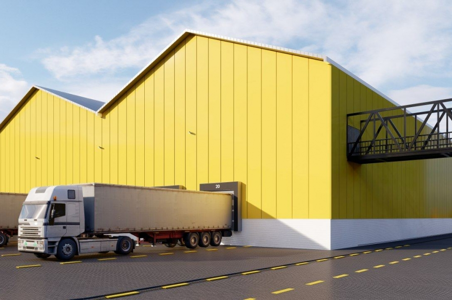 Development of the concept of a freight logistics terminal