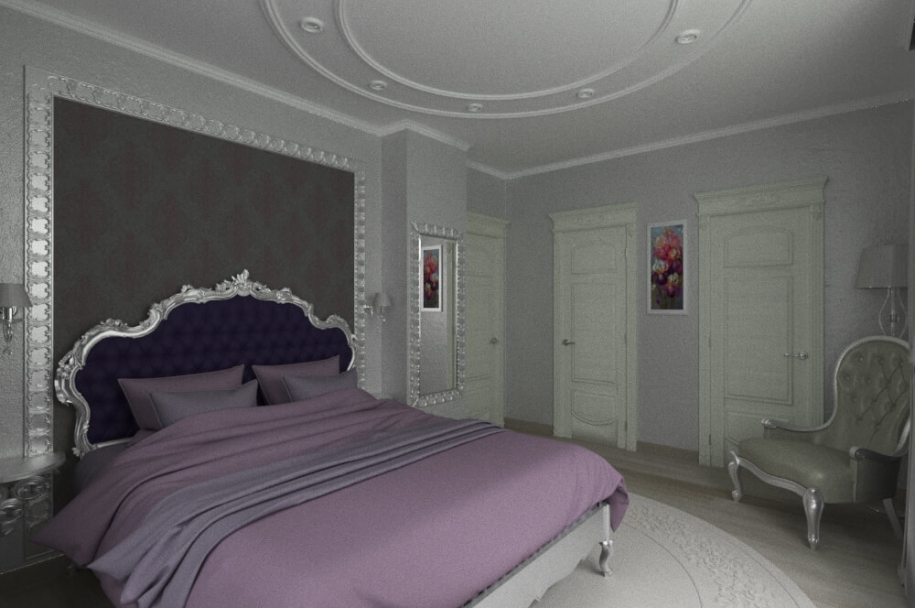Design project of a house interior in Sauvignon