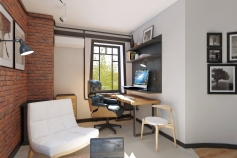 Design project office on the Filatova str