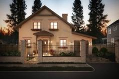 Private house in the Molodezhnaya village