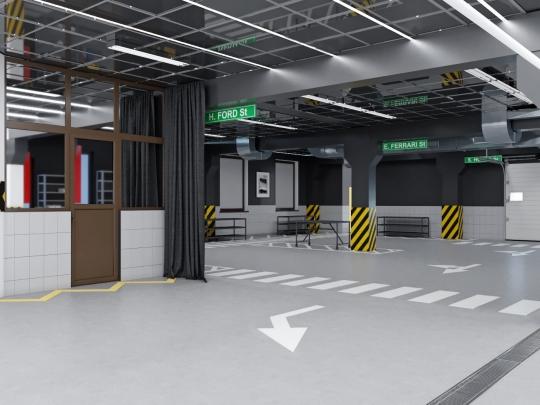 "Design project of parking ""Region-16"" in Odessa"