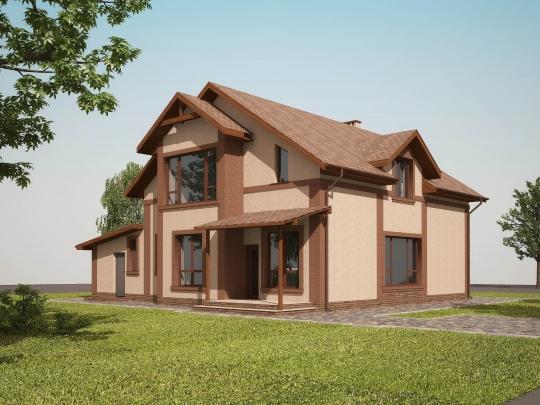 Private house in the Fontanka village (Odessa region)