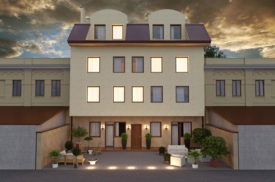 Apartment house on the Dalnevostochnaya street