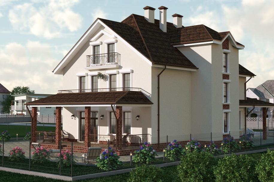 Cottage in the Sanzheyka village
