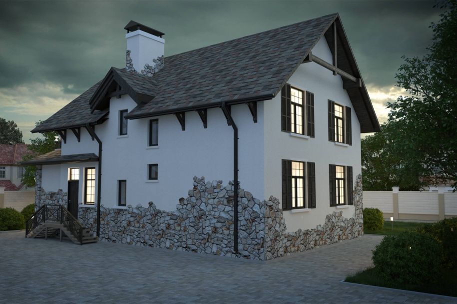 Cottage on the Joliot Curie street  in Odessa