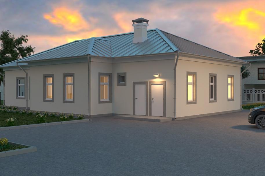 Будинок зборів в с. Федорівка