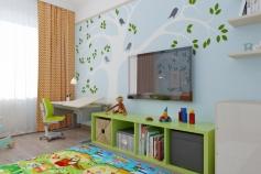 Interior design project apartment w / a