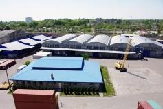 Вантажний термінал експедиторської компанії «Black Sea Shipping Service Ltd»