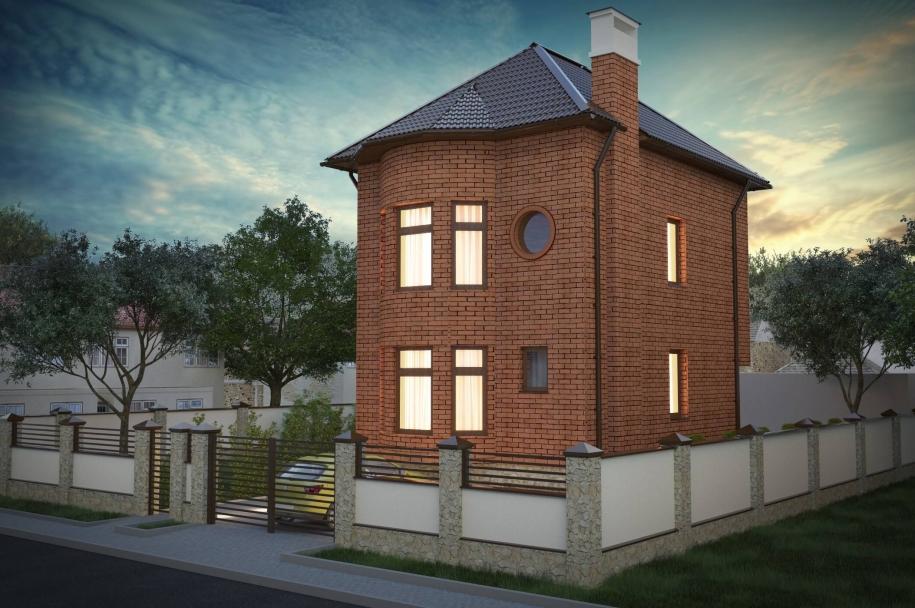 Приватний житловий будинок на вул. Вишневій