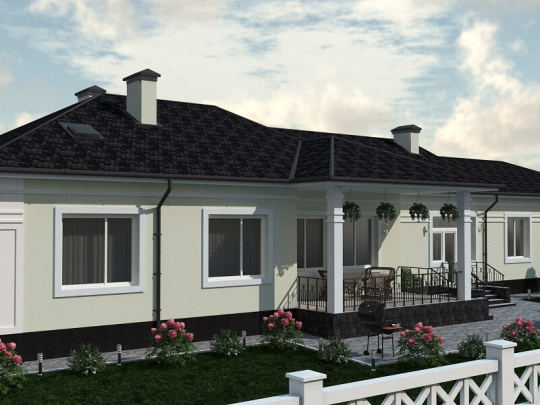 "Garden house, utility buildings and structures (SK ""Khutorok"")"