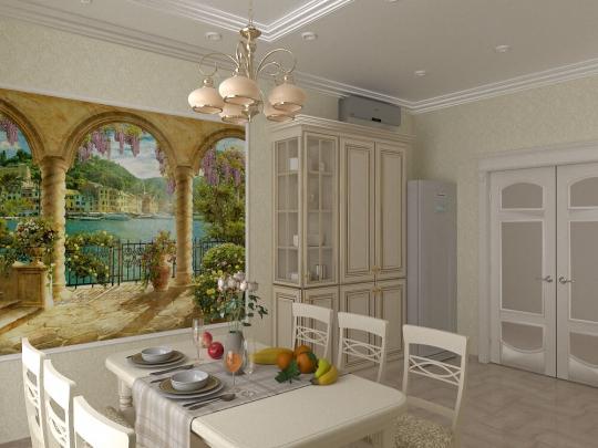 Дизайн-проект интерьера дома в Совиньоне