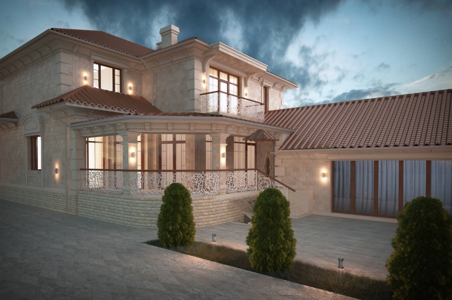 Приватний будинок на вул. Костанді