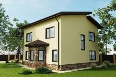 Garden house, Molodezhnoe village