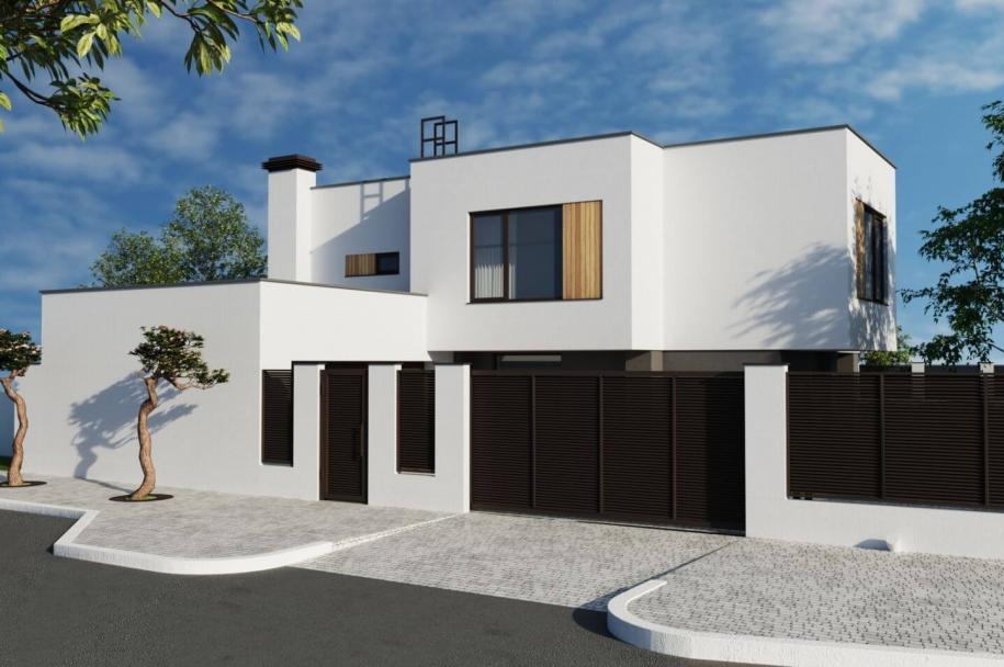 Individual residental building in s.Limanka h/m Chervony Khutor (Polevaya st.)