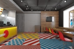 Дизайн-проект кафе быстрого питания