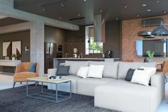 Interior design of an apartment on Korallova Street