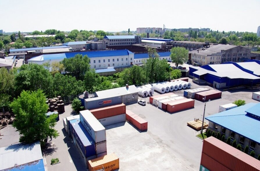 "Freight terminal of forwarding company ""Black Sea Shipping Service Ltd"""