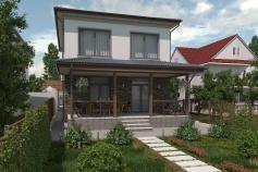 Cottage in the village Chervonny Khutor