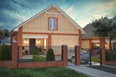 Частный дом в с. Нерубайское
