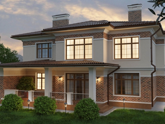 Частный жилой дом на ул. Тимирязева